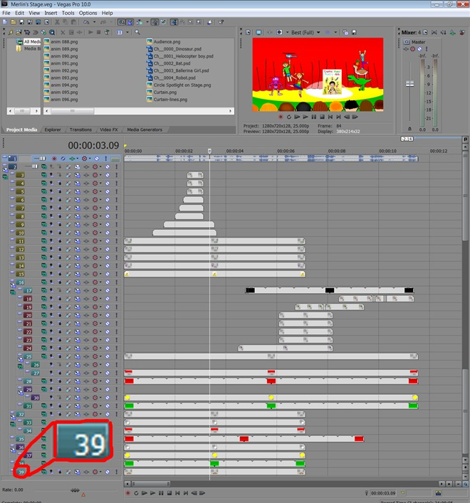 39 Layers of Editing